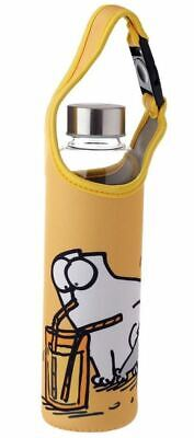£9.95 • Buy Simons Cat Reusable Reinforced Glass Water Bottle With Sleeve And Handle