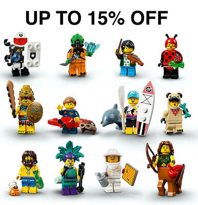Lego Series 21 Minifigures 71027 | Pick Your Figure! | UP TO 15% OFF • 5.99£