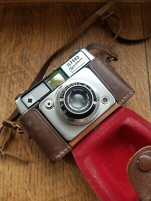 Vintage Ilford Sportsman Camera 35mm With Original Carry Case #untested# • 10£