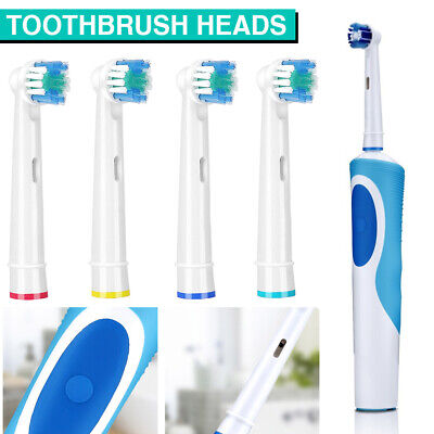 AU3.49 • Buy SOFT Oral B Toothbrush Heads Compatible Electric Replacement Brush Heads Home AU