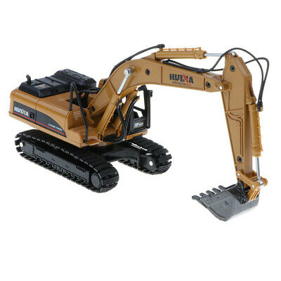 AU27.85 • Buy Alloy Diecast Excavator Construction Truck Toys Tractor Digger Model