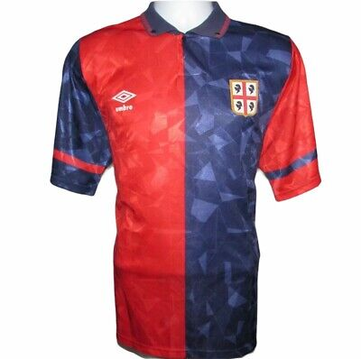 £69.99 • Buy 1990-1993 Cagliari Home Football Shirt, Umbro, Large (Excellent Condition)