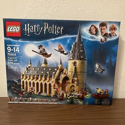 $ CDN120.91 • Buy NEW LEGO Harry Potter Hogwarts Great Hall 75954 Building Set 878 Pieces Sealed