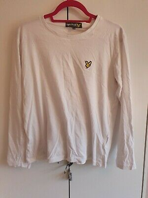 Lyle And Scott Long Sleeve T-shirt Mens Size M • 5.99£