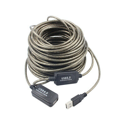 AU13.79 • Buy 5/10/15/20M USB Extension Repeater Signal Amplifier Booster Male To Female Cable