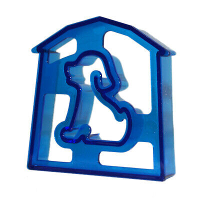 Dog Shaped Sandwich Cutter Cookie Biscuit Cutter - Blue • 2.99£
