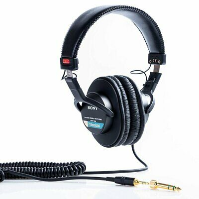 AU113.09 • Buy Sony MDR-7506 Over The Ear Headphones - Black