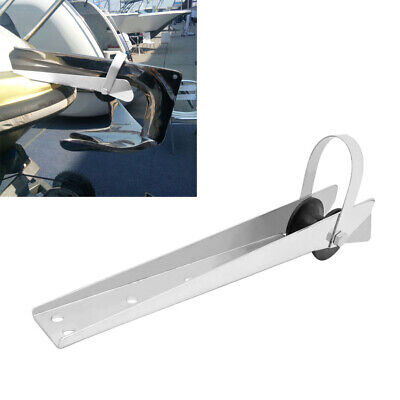 316 Stainless Steel 390mm Large Bow Sprit Anchor Roller - Boat/Yacht/Marine • 33.68£