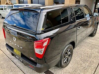 AU3200 • Buy ELYSIUM Canopy For SsangYong Musso (Short Tub) 2018-Current Space Black #LAK