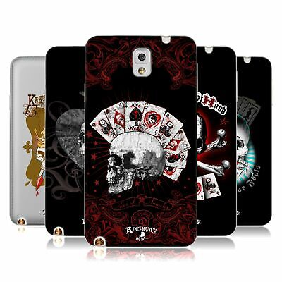 £14.95 • Buy Official Alchemy Gothic Skull And Cards Soft Gel Case For Samsung Phones 2