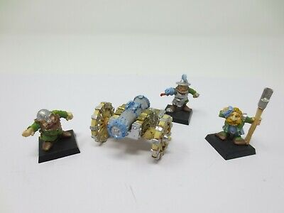 £22.99 • Buy Warhammer Citadel Dwarf Cannon And Crew Metal Oop Well Painted G269