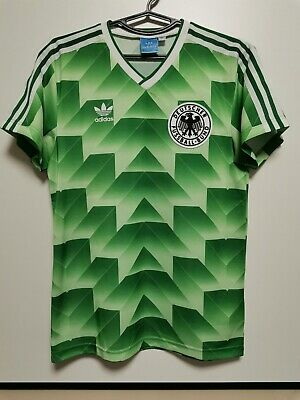 Size S Germany Retro Replica 1988-1990 Away Football Shirt Jersey Adidas  • 50£