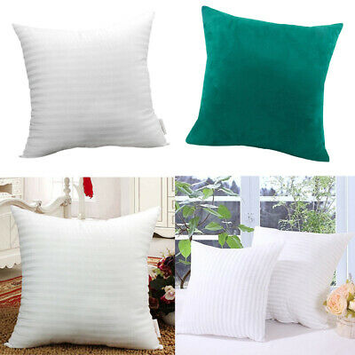 Peacock Blue Cushion Pillow Cover&Pillow Inner Pad For Sofa Bedroom -60x60cm • 28.97£