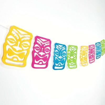 Tropical Bunting Banner Backdrop Hanging Luau Home Party Decoration Favor • 4.63£