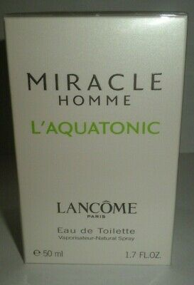 Lancome Miracle Homme L'Aquatonic 50  Ml New,  • 49.99£