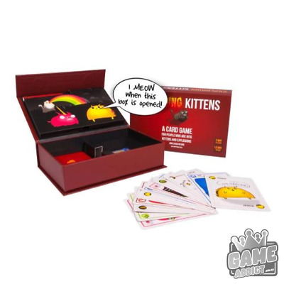 AU49.95 • Buy Exploding Kittens First Edition Meow Box