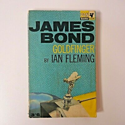 Vintage Pan Paperback James Bond Goldfinger By Ian Fleming .10th Printing 1963 • 17.50£
