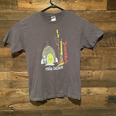 Vintage Weezer 2005 Make Believe Space Ship Graphic  T Shirt Size Mens Large • 25.33£