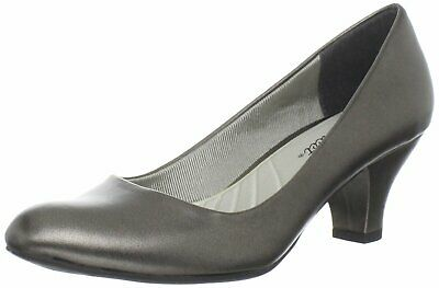 Easy Street Women's Shoes Fabulous Closed Toe Classic Pumps, Pewter, Size 8.0 Df • 7.62£