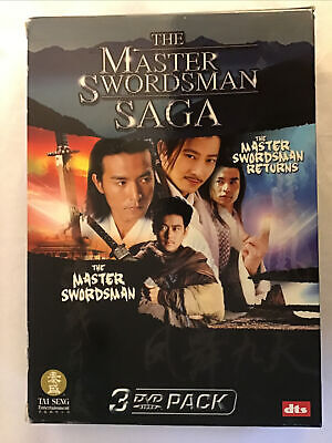 Brand-New Master Swordsman Saga ( 3 DVD, 2006) Daniel Lee Rare Freeshipping • 14.30£