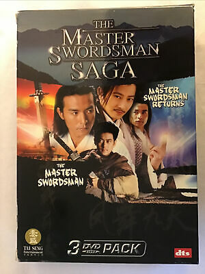Brand-New Master Swordsman Saga ( 3 DVD, 2006) Daniel Lee Rare Freeshipping • 14.46£