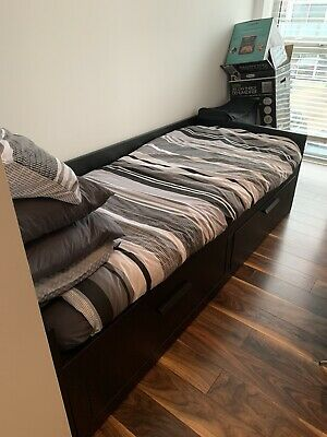 Single Bed With Storage Drawers • 100£