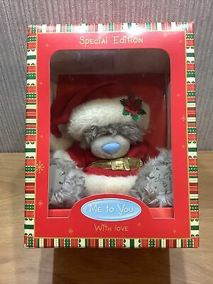 £16.95 • Buy Me To You Bear Special Edition New Boxed Gift Rare With Love Christmas Santa