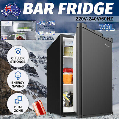 AU185.90 • Buy 73L Fridge Portable Freezer Beer Beverage Bar Refrigerator Home Commercial Black