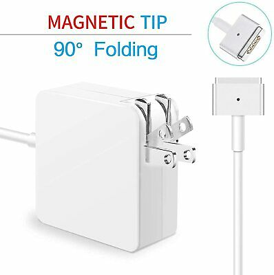 $32.66 • Buy Genuine 85W T-Tip For MagSafe2 Power Adapter Charger MacBook Pro A1398 Late 2012