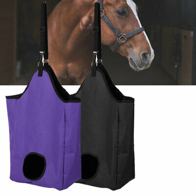 £12.09 • Buy Horse Feed Durable Large Hay Bag , For Horse Pony, Control Feeding, Less Waste