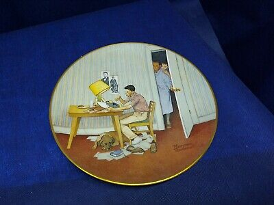 $ CDN7.52 • Buy 1979 Norman Rockwell Collector's Plate  The Student  American Family Series