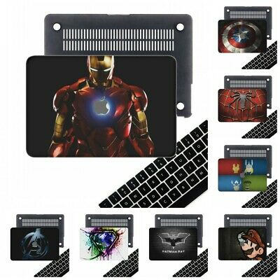 $16.54 • Buy Matte Rubberized Iron Man Hard Cut Out Case Shell Cover For New Macbook Pro Air