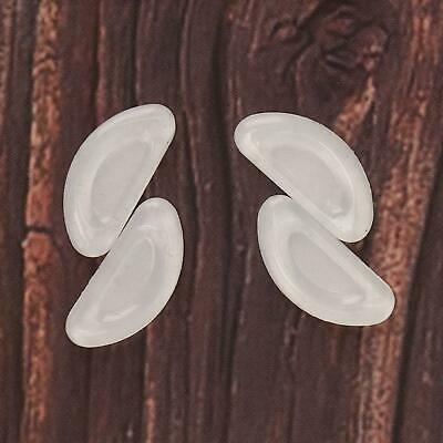 £5.60 • Buy Silicone Replacement Nose Pads 20 Pairs Clear Glasses Spares Silicone Parts Tool