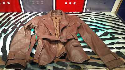 $ CDN89 • Buy Danier Womens Leather Jacket Brown Size Small Good Condition Style