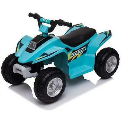 AU119 • Buy NEW 6V Kids Electric Ride On ATV Quad Bike 4 Wheeler Toy Car - Aqua