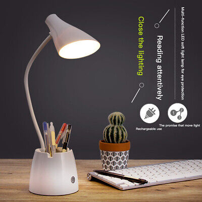 AU11.69 • Buy Eye Protection Touch LED Desk Lamp Bedside Study Reading Table Light Dimmable AU