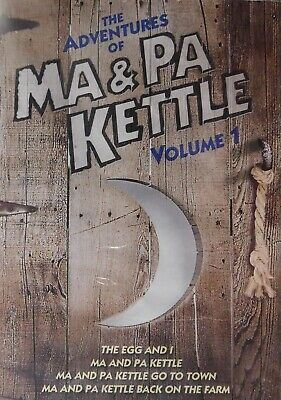 $14.99 • Buy 4 Ma And Pa KETTLE COMEDIES The EGG And I MA And PA KETTLE BACK On The FARM