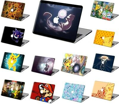 $22.98 • Buy Pokemon GO Pattern Rubberized Hard Cut Out Case Cover For New Macbook Pro Air