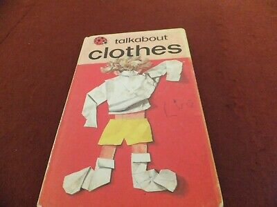 Ladybird Book Talkabout Clothes • 7.80£