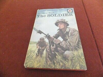 Ladybird Book People At Work The Soldier • 5.50£