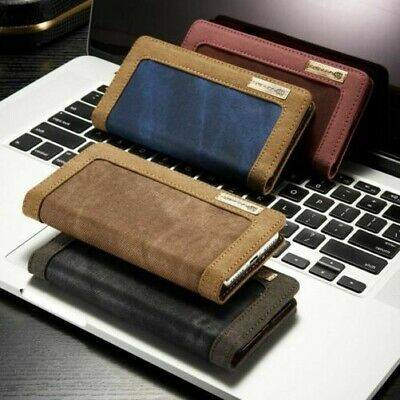 AU20 • Buy Sony Xperia Case Etui Wallet Cell Phone Case Cover Jeans Leather Synthetic
