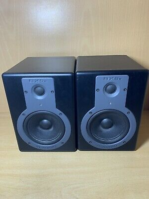 $175 • Buy M-Audio Studiophile BX5a Studio Reference Monitor Speakers X2