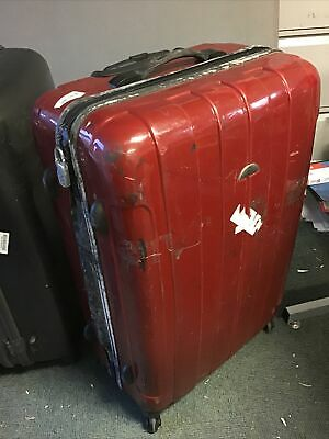 Large Hard Shell Louies Berry Suitcase-red • 15£