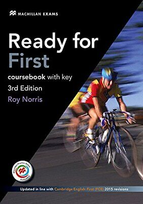£7.72 • Buy Ready For FCE Student's Book (+ Key) By Roy Norris