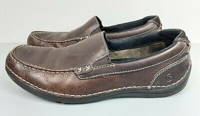 Rockport  Mens Size 9.5 Driving Brown Moccasin Loafers Slip On K58036 FREE SHIP • 25.04£