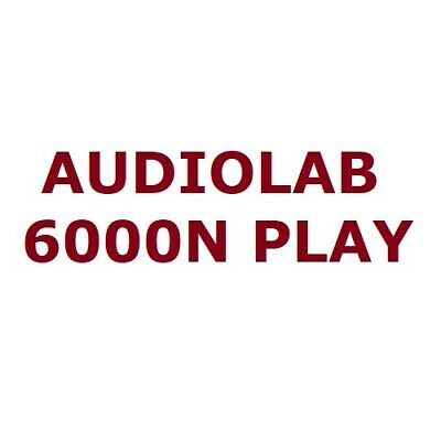 AU849 • Buy Audiolab 6000N Play Wireless Audio Streaming Player DTS Play-Fi Hi-Res Spotify