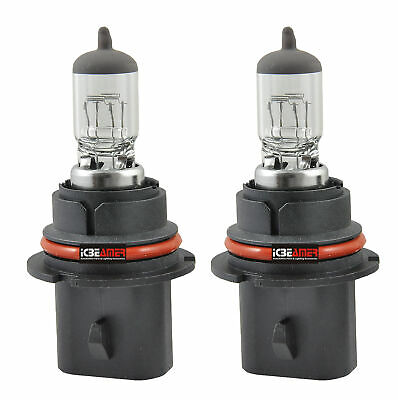 $8.99 • Buy 2 Pcs 9007 HB5 12V 60/55W Direct Replace For Auto Factory Halogen Light Bulbs