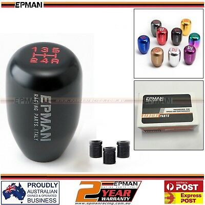 AU29.99 • Buy 5 Speed Gear Knob Shift Lever Manual M10 M12 Universal Car Shifter Stick Black