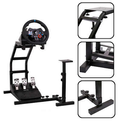 Steering Wheel Stand Racing Simulator For Logitech G27 G29 G920 T300RS T500RS • 59.99£