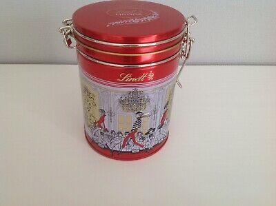 Lindt Lindor Chocolate Empty Sweet Storage Tin Container Fashion Show Design  • 3.99£